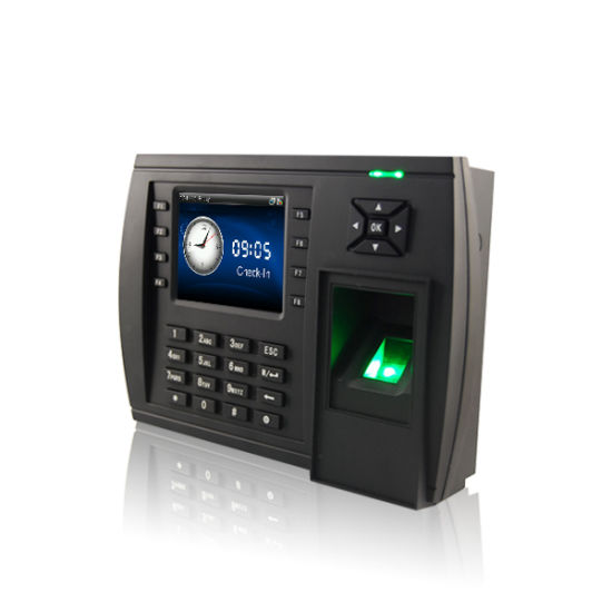 Model TFT500) Biometric Fingerprint Time Attendance System with ...